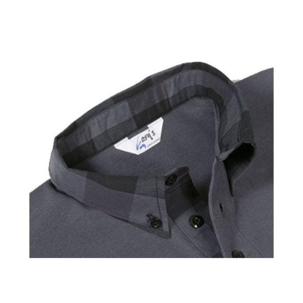 polo-garys-8512-negro-gris-cuadros
