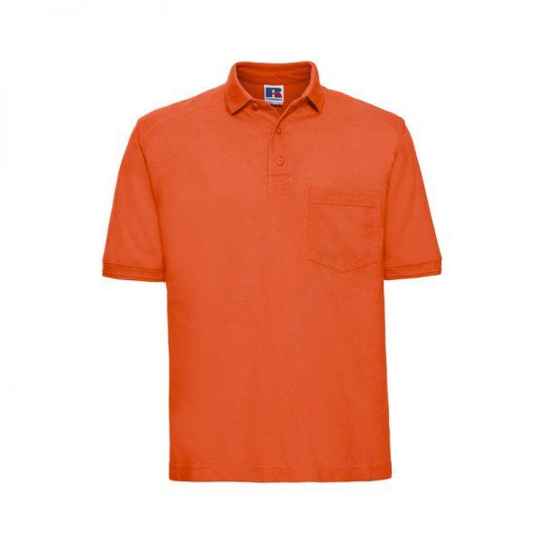 polo-russell-heavy-duty-011m-naranja
