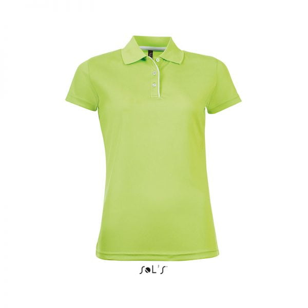 polo-sols-performer-women-verde-manzana