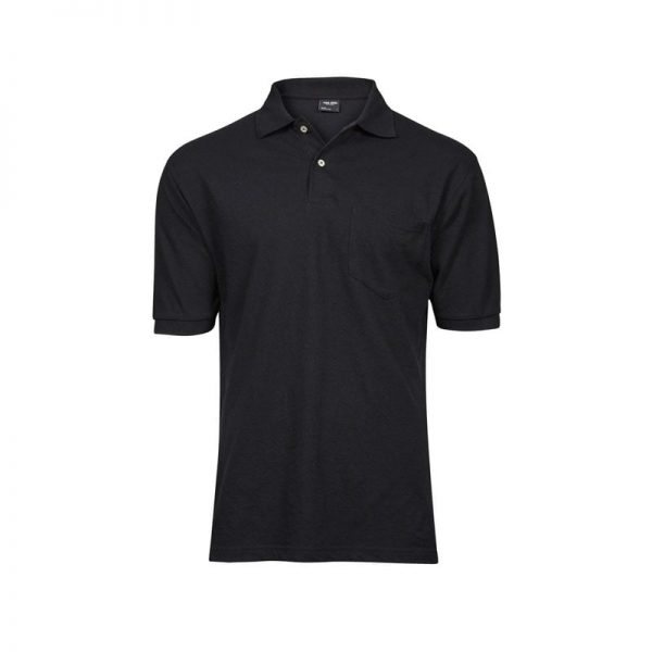polo-tee-jays-pocket-2400-negro