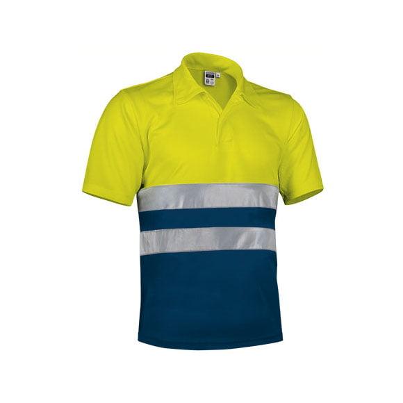 polo-valento-alta-visibilidad-build-amarillo-fluor-marino