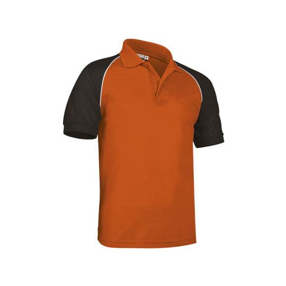 polo-valento-venur-naranja-negro-blanco