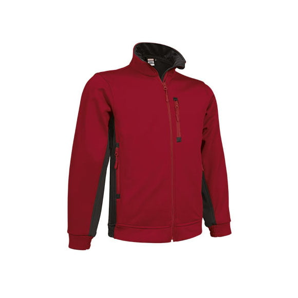 softshell-valento-peak-rojo-negro