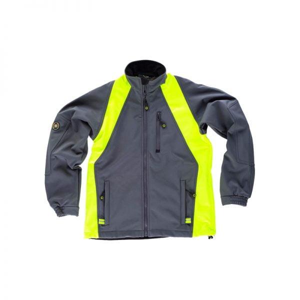 softshell-workteam-wf1640-gris-amarillo-fluor