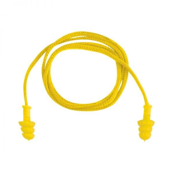 tapon-deltaplus-desechable-conicfir010-amarillo