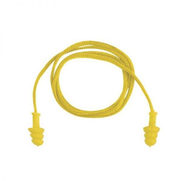 tapon-deltaplus-desechable-conicfir050-amarillo