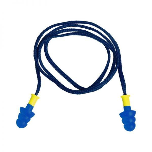tapon-deltaplus-desechable-conicfirde010-azul-amarillo