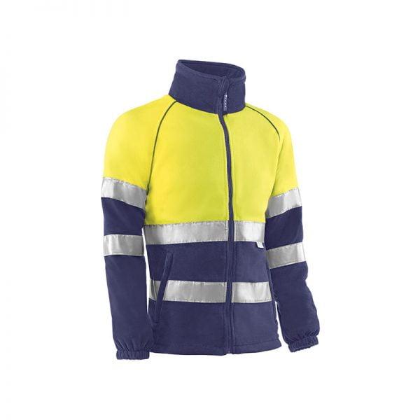 forro-polar-juba-alta-visibilidad-andes-hv772-amarillo-fluor-azul