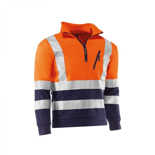 sudadera-juba-alta-visibilidad-mitika-hv793-naranja-fluor-azul