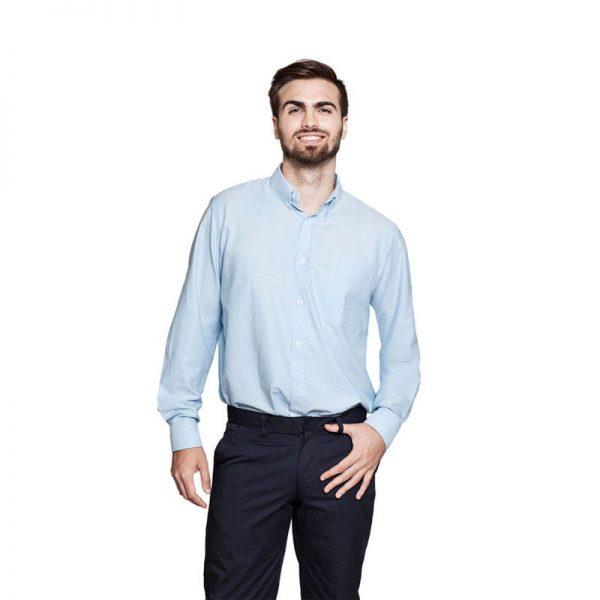 camisa-adversia-oxford-3104-alisios-azul-celeste