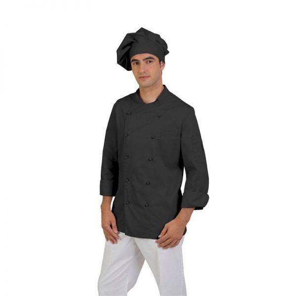 chaqueta-de-cocina-eurosavoy-113002c-imola-negro