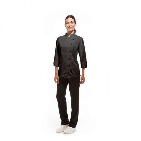 chaqueta-de-cocina-eurosavoy-113203c-trapani-negro