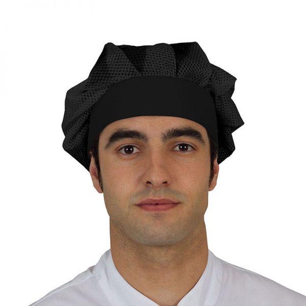gorro-cocina-eurosavoy-rejilla-111207-oporto-negro